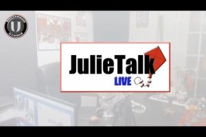 JulieTalk Live Episode 3 Spartacus Race and Abuse in the Work Place